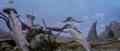 Godzilla vs. Megaguirus - Dying Meganula
