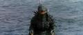Godzilla vs. Megaguirus - Godzilla walks up there