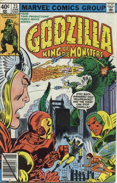 Godzilla, King of the Monsters (Marvel) Issue 23