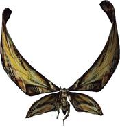 Mothra (Mosura) MV transparent