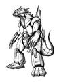 Concept Art - Godzilla Against MechaGodzilla - Kiryu 29