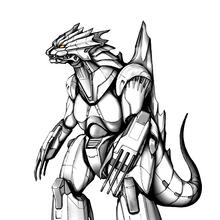 Concept Art - Godzilla Against MechaGodzilla - Kiryu 29.png