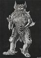 Concept Art - Godzilla vs. MechaGodzilla - King Caesar