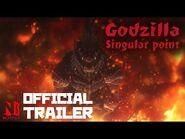 Godzilla Singular Point - Official Trailer - Netflix Anime