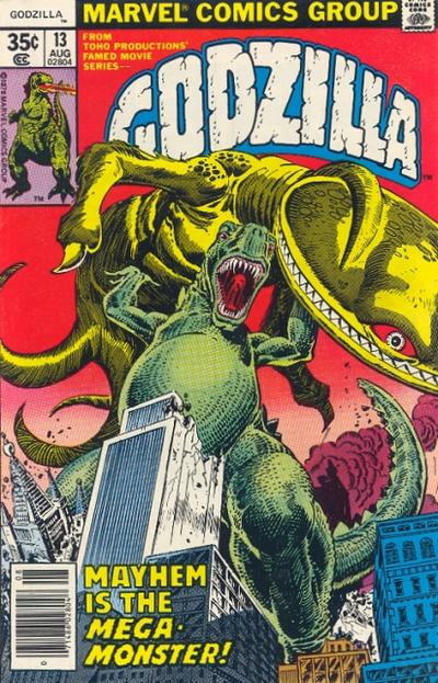Godzilla, King of the Monsters (Marvel) Issue 13