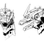 Concept Art - Godzilla Against MechaGodzilla - Kiryu Head 2.png