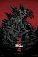 Godzilla Poster neu
