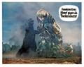 Godzilla vs. Hedorah Lobby Card Germany 1