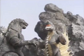 Godzilla and Gigan Looking At Each Other