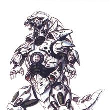 Concept Art - Godzilla Against MechaGodzilla - Kiryu 50.png