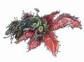 Concept Art - Godzilla vs. Biollante - Biollante Rose 15