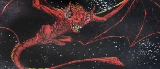 Bagorah as it is seen in Godzilla, King of the Monsters #3