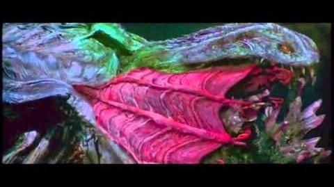 Godzilla 2000 Battle Orga in fire