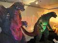 Suit and Puppet Museum - SpaceGodzilla and Godzilla Junior