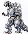 Concept Art - Godzilla Against MechaGodzilla - Kiryu 5