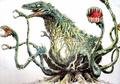 Concept Art - Godzilla vs. Biollante - Biollante 19