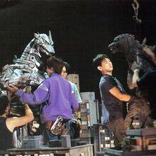 Godzilla Against MechaGodzilla Production Picture.jpg