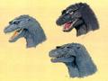 Concept Art - Godzilla vs. Destoroyah - Godzilla Junior 5