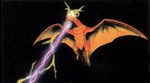 Concept Art - Godzilla vs. MechaGodzilla 2 - Rodan Beam 1