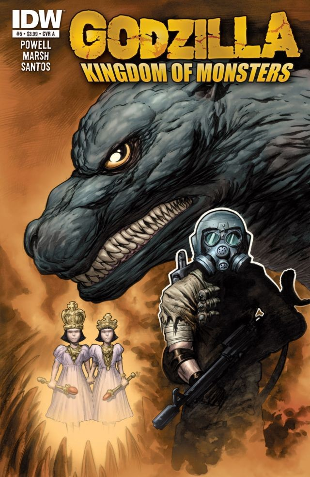 Godzilla: Kingdom of Monsters Issue 5