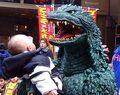 MireGoji meets a baby