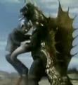 Zone Fighter vs. Gigan