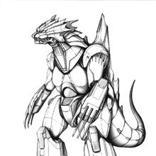 Concept Art - Godzilla Against MechaGodzilla - Kiryu 49.png