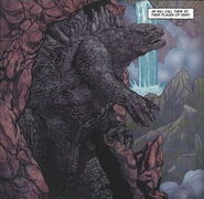 Godzilla lair Entrance