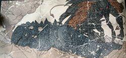 MUTO Prime derrivando a un Titanus Gojira (Dagon)..jpg