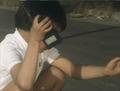 Go! Greenman - Episode 3 Greenman vs. Gejiru - 8 - Curse you 70's technology!