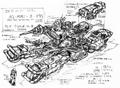 Concept Art - Godzilla vs. Destoroyah - DAG-MB96 2