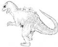 Concept Art - Godzilla vs. MechaGodzilla 2 - Baby Godzilla 2