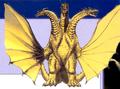Concept Art - Rebirth of Mothra 3 - Grand King Ghidorah 1