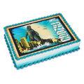 Godzilla Birthday Cake