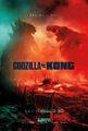 Godzilla vs. Kong RealD 3D poster