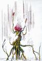 Concept Art - Godzilla vs. Biollante - Biollante Rose 16