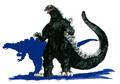 Concept Art - Godzilla vs. Destoroyah - Godzilla Junior 13