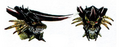 Concept Art - Mothra vs. Bagan - Bagan Head 1
