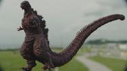 Shin Godzilla 4th Form CG Model Full Body