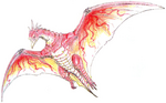 Concept Art - Godzilla vs. MechaGodzilla 2 - Fire Rodan 2