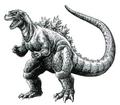 Concept Art - Godzilla vs. Destoroyah - Godzilla Junior 9