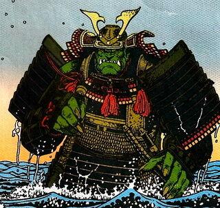 Gekido-Jin as it is seen in Godzilla Color Special