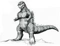 Concept Art - Godzilla vs. Destoroyah - Godzilla Junior 20