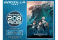 Godzilla Planet of the Monsters - 208 piece puzzle - 00001
