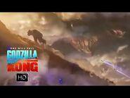 "NEW Godzilla vs Kong TV SPOT ""New Home"" (New Hollow Earth Footage)"