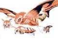 Concept Art - Rebirth of Mothra 3 - Mothra Leo 3