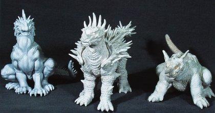 Godzilla X Varan, Baragon and Anguirus: Giant Monsters All-Out Attack