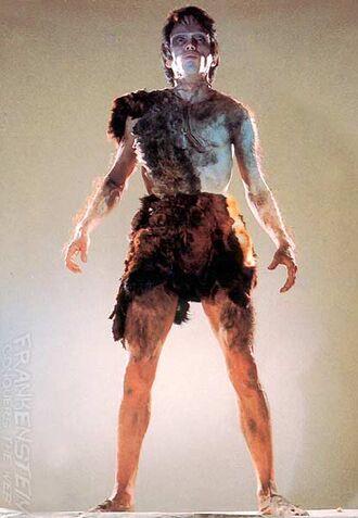 Frankenstein as he is seen in Frankenstein vs. Baragon (click to enlarge)