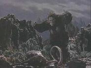 Riesengorilla Riesenkrake