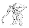 Concept Art - Godzilla 2000 Millennium - Orga 21